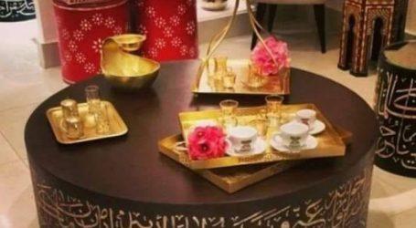بالصور: فن الإبداع في تصميم أثاث المنزل بالعبرات العربية